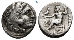 Kings of Macedon. Lampsakos. Philip III Arrhidaeus 323-317 BC. In the name and types of Alexander III. Struck under Leonnatos, Arrhidaios, or Antigono...