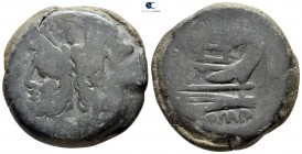 Anonymous after 211 BC. Rome. As Æ