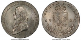 Prussia. Friedrich Wilhelm III 1/3 Taler 1800-A MS63 PCGS, Berlin mint, KM380. Glimmering original surfaces.  HID09801242017