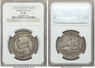 Prussia. Friedrich Wilhelm III Taler 1816-A VF20 NGC, Berlin mint, KM395. Evenly worn coin, free of any problems.  HID09801242017