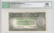 Australia, 1 Pound, 1961-65, XF, p34a, ICG 48