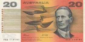 Australia, 20 Dollars, 1991, VF, p46h