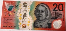 Australia, 20 Dollars, 2019, UNC, pNew