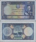 Afghanistan: 50 Afghanis ND(1939), P.25a, almost perfect, tiny dint at lower right, condition: aUNC/UNC