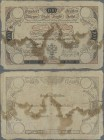 Austria: Wiener Stadt Banko-Zettel 100 Gulden 1806, P.A42, still intact, some border tears, stained paper and several small holes at center. Condition...