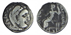 Kingdom of Macedon, Antigonos I . (320-306) BC. silver drachm /the name and species of Alexander III. Colophon mint struck between 310-301 BC. Herakle...