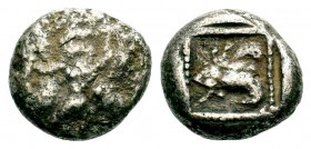 Very İnteresting Archaic Silver Coin, Circa 475-460 BC. Condition: Very Fine  Weight: 8,16 gr Diameter: 17,50 mm
