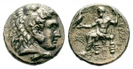 Kingdom of Macedon, Alexander III 'The Great' (336-323 B.C.). AR Tetradrachm Condition: Very Fine  Weight: 16,08 gr Diameter: 25,70 mm