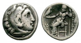 Kingdom of Macedon, Alexander III 'The Great' (336-323 B.C.). AR drachm Condition: Very Fine  Weight: 4,12 gr Diameter: 17,60 mm