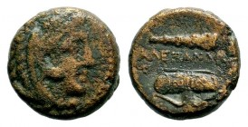 Kingdom of Macedon, Alexander III 'The Great' (336-323 B.C.). AE Condition: Very Fine  Weight: 5,85 gr Diameter: 17,35 mm