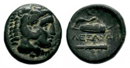 Kingdom of Macedon, Alexander III 'The Great' (336-323 B.C.). AE Condition: Very Fine  Weight: 5,62 gr Diameter: 18,15 mm