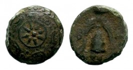 Kingdom of Macedon, Alexander III 'The Great' (336-323 B.C.). AE Condition: Very Fine  Weight: 1,41 gr Diameter: 12,50 mm