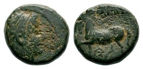 Ancient Greek Coin ,Horse Left, Condition: Very Fine  Weight: 3,94 gr Diameter: 13,70 mm