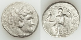 MACEDONIAN KINGDOM. Alexander III the Great (336-323 BC). AR tetradrachm (27mm, 16.50 gm, 12h). VF, porosity. Lifetime issue of Salamis, 332-323 BC. H...