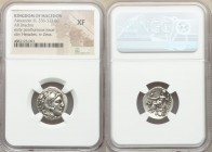 MACEDONIAN KINGDOM. Alexander III the Great (336-323 BC). AR drachm (18mm, 1h). NGC XF. Early posthumous issue of Abydus (?), ca. 310-301 BC. Head of ...