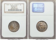 Frankfurt. Free City 6 Kreuzer 1620 MS62 NGC, KM62. A strong Mint State grade for this interesting issue, replete with russet and gray tones throughou...