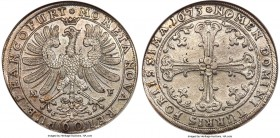 Frankfurt. Free City Gulden 1673-MF MS62 NGC, KM-Unl., Dav-516, JuF-563. Fully sharp and very appealing when encountered at this level of condition.  ...
