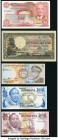 Ten African Notes from Botswana, Lesotho, Malawi, Namibia, South Africa, Swaziland, and Zimbabwe. Very Fine or Better.   HID09801242017