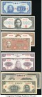 A Mid-1940s Assortment of Issues from the Central Bank of China. About Uncirculated or Better.   HID09801242017