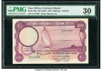 East Africa East African Currency Board 100 Shillings ND (1964) Pick 48a PMG Very Fine 30.   HID09801242017