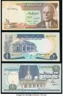 A Half Dozen Modern Notes from Egypt, South Sudan, Sudan, and Tunisia. Choice Crisp Uncirculated.   HID09801242017