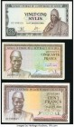 A Half Dozen Notes from Equatorial Guinea and Guinea. Very Fine or Better.   HID09801242017