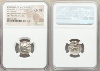 MACEDONIAN KINGDOM. Alexander III the Great (336-323 BC). AR drachm (17mm, 12h). NGC Choice XF. Posthumous issue of Mylasa, ca. 310-300 BC. Head of He...