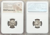MACEDONIAN KINGDOM. Alexander III the Great (336-323 BC). AR drachm (18mm, 1h). NGC XF. Posthumous issue of Lampsacus, ca. 320-305 BC. Head of Heracle...