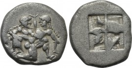 THRACE. Thasos. 1/3 Stater or Drachm (Circa 500-480 BC).