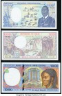Central African States Banque Des Etats De L'Afrique Centrale 10,000 Francs (19)98 Pick 205E About Uncirculated; Central African Republic Banque Des E...