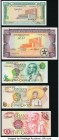 A Wide Variety of Notes from Ghana Issued From the 1960s to the 2000s.Crisp Uncirculated or Better.   HID09801242017