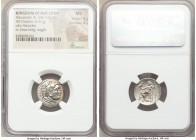 MACEDONIAN KINGDOM. Alexander III the Great (336-323 BC). AR drachm (17mm, 12h). NGC MS 5/5 - 2/5. Lifetime issue of Magnesia ad Maeandrum, ca. 325-32...