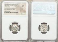 MACEDONIAN KINGDOM. Alexander III the Great (336-323 BC). AR drachm (17mm, 6h). NGC XF. Posthumous issue of Mylasa, ca. 310-300 BC. Head of Heracles r...