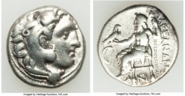 MACEDONIAN KINGDOM. Alexander III the Great (336-323 BC). AR drachm (16mm, 4.14 gm, 10h). Fine. Posthumous issue of 'Colophon', ca. 310-301 BC. Head o...
