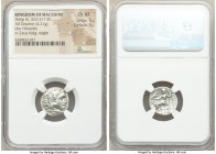 MACEDONIAN KINGDOM. Philip III Arrhidaeus (323-317 BC). AR drachm (17mm, 4.21 gm, 12h). NGC Choice XF 5/5 - 4/5. Colophon, ca. 323-319 BC. Head of Her...