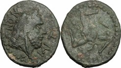 Iaitos.  Under Roman Rule (after 241 BC). . AE 25.5 mm