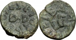 Panormos.  Roman protectorate, after 241 BC.. AE 17 mm,  L. Seius proconsul, Septimius and Balbus duoviri