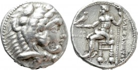 KINGS OF MACEDON. Alexander III 'the Great' (336-323 BC). Tetradrachm. Tyre. Dated RY 28 of Azemilkos (322/1 BC).