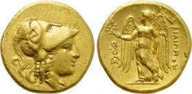 KINGS OF MACEDON. Philip III Arrhidaios (323-317 BC). GOLD Stater. Lampsakos.