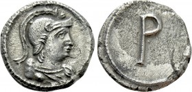 ANONYMOUS. Time of Justinian I (Circa 530). 1/3 Siliqua. Constantinople.