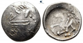 Eastern Europe. Imitation of Philip II of Macedon 200 BC. Tetradrachm AR