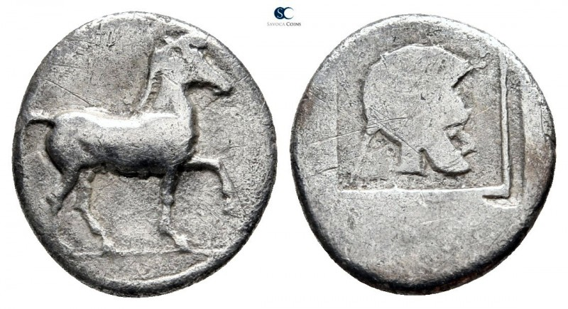 Kings of Macedon. Aigai. Alexander I 495-450 BC. 