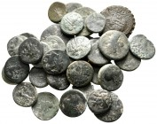 Lot of ca. 35 greek bronze coins / SOLD AS SEEN, NO RETURN!nearly very fine
