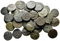 Lot of ca. 37 greek bronze coins / SOLD AS SEEN, NO RETURN!very fine
