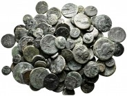 Lot of ca. 80 greek bronze coins / SOLD AS SEEN, NO RETURN!very fine