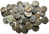 Lot of ca. 50 roman provincial bronze coins / SOLD AS SEEN, NO RETURN!very fine