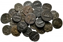 Lot of ca. 37 roman provincial bronze coins / SOLD AS SEEN, NO RETURN!very fine