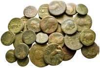 Lot of ca. 29 roman provincial bronze coins / SOLD AS SEEN, NO RETURN!fine