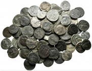 Lot of ca. 75 late roman bronze coins / SOLD AS SEEN, NO RETURN!very fine