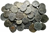 Lot of ca. 55 byzantine bronze coins / SOLD AS SEEN, NO RETURN!